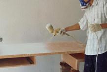 三、防潮防沙:油漆最好用喷涂