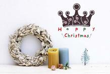 21款温馨圣诞主题墙贴