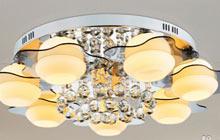 暖色调温馨设计客厅灯
