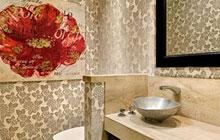 卫浴隔断设计 空间变换方便实用