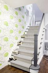 绿意爬上楼梯 15个绿色元素楼梯