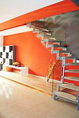 16个现代楼梯设计 感受镂空踏板的时尚