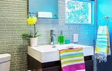 22款瓷砖效果图 做有魅力的卫生间