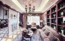 23款客厅吊顶设计 感受奢华美式风