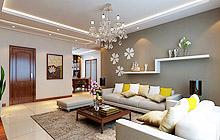 家的主旋律 18款客厅吊顶装修设计