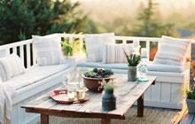 有沙发阳台更惬意 12种冬日阳台沙发设计