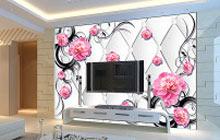 3d电视背景墙装修效果图