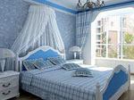 案例二:地中海风格100平3房蔚蓝天地