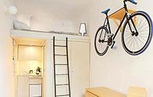 这么小也能住! 13平米超小户型loft装修