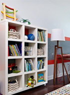 三、儿童书房装修之书房家具