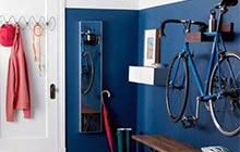 自行车惊喜背景墙