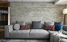 工业风+现代暖 这套三居室装修很特别