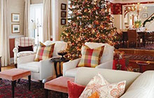 和我一起狂欢吧 10款圣诞客厅装修图片